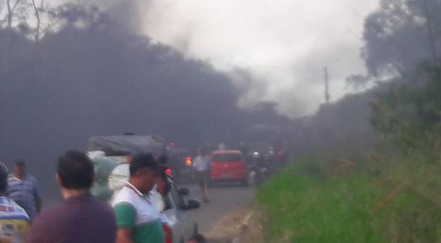 Confira locais com paralisação de caminhoneiros nas estradas de Pernambuco
