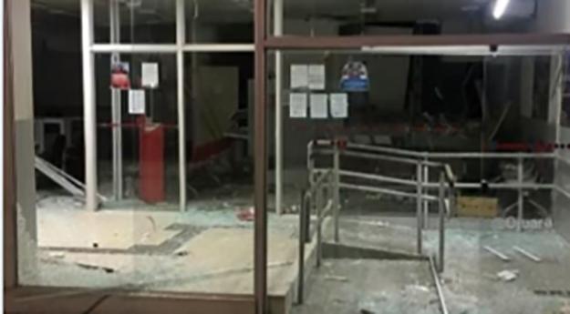 Agência bancária é explodida no Agreste