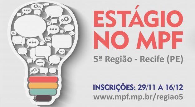 MPF abre seleção de estágio para estudantes de comunicação social