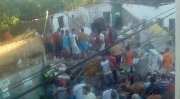 Neto e avó morrem após explosão de gás no Recife