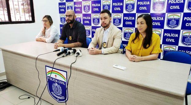 Polícia divulga prisão de três suspeitos de homicídios em Caruaru