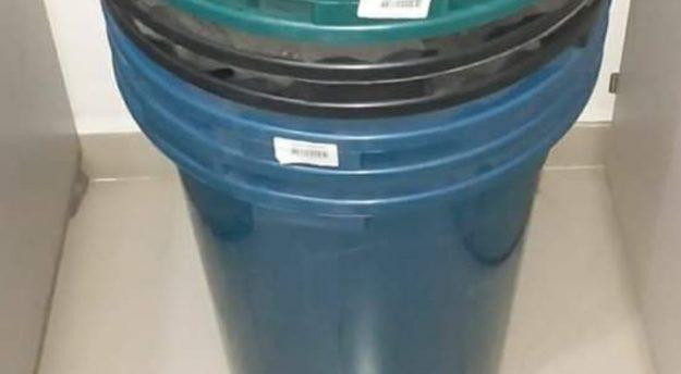 Homem é preso suspeito de furtar baldes no Parque 18 de Maio em Caruaru