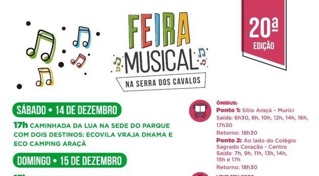 20ª Feira Musical é realizada em Caruaru