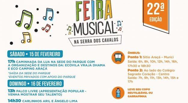 Feira Musical é realizada em Caruaru