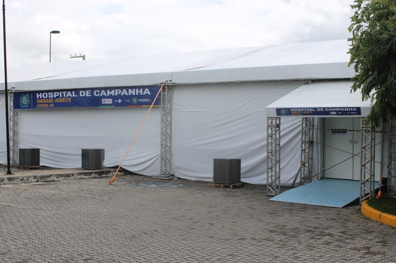Hospital de Campanha abre 10 novos leitos nesta quinta (17) em Caruaru
