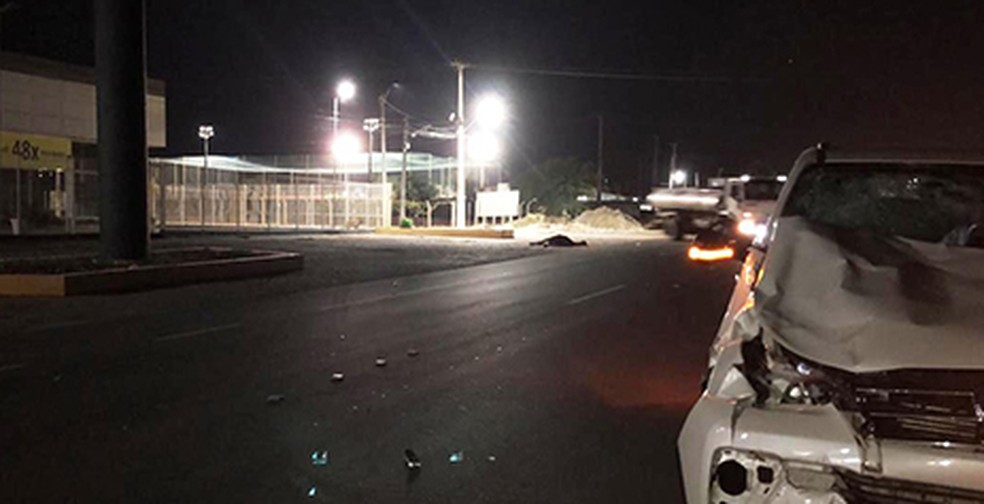 Égua na pista causa acidente na PE-160