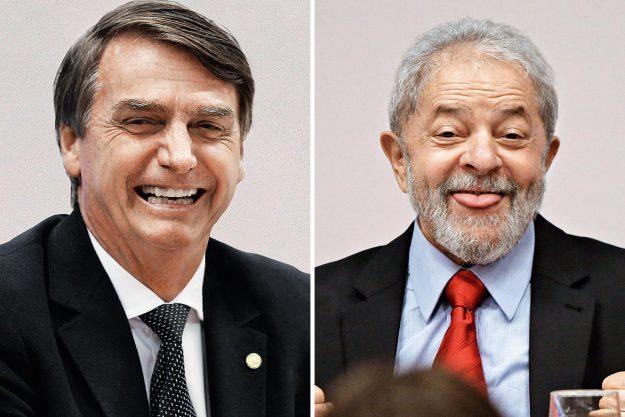 Lula bate Bolsonaro no 2º turno com facilidade, diz pesquisa