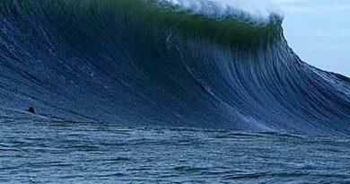 Marinha emite alerta de ondas com até 3,5 metros